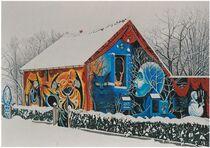 Maison couleurs du temps - venas Maison sous la neige Ⓒ Monsieur Chop - 2013
