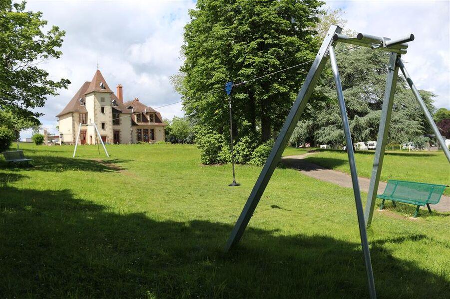 Tyrolienne Parc Bignon