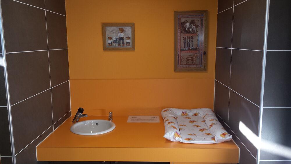 Espace change bébé - © Office de Tourisme d'Orcières