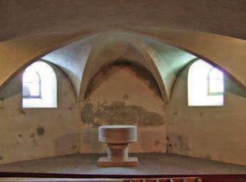 La crypte et la chapelle Notre Dame des anges