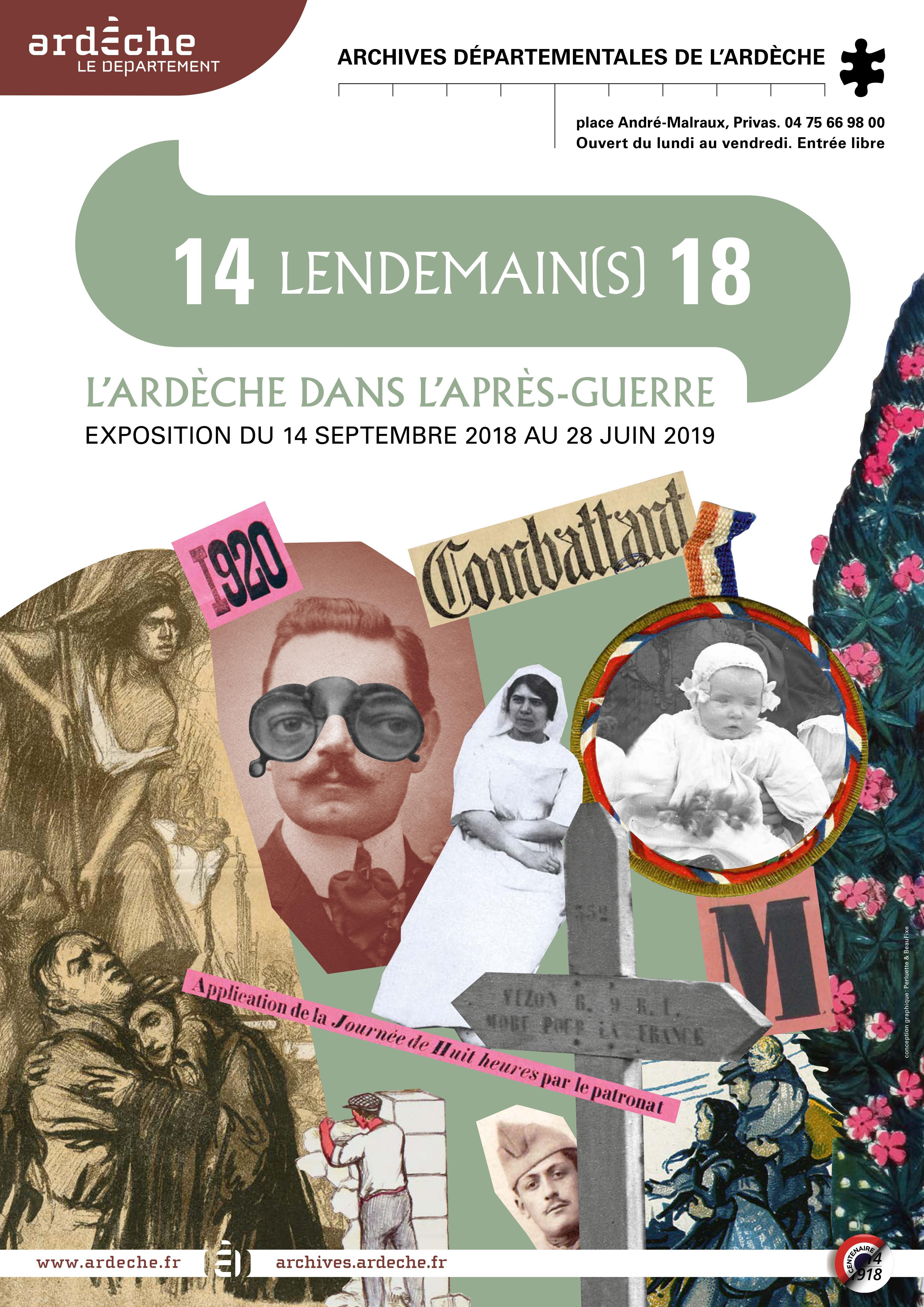 Conférence : Présence étrangère en Ardèche durant la Grande Guerre
