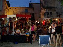Marché nocturne - Saint-Martin-d'Ardèche