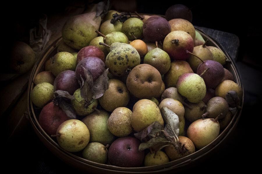 Marche aux Fruits Anciens d'Orpierre - � Patrick Domeyne