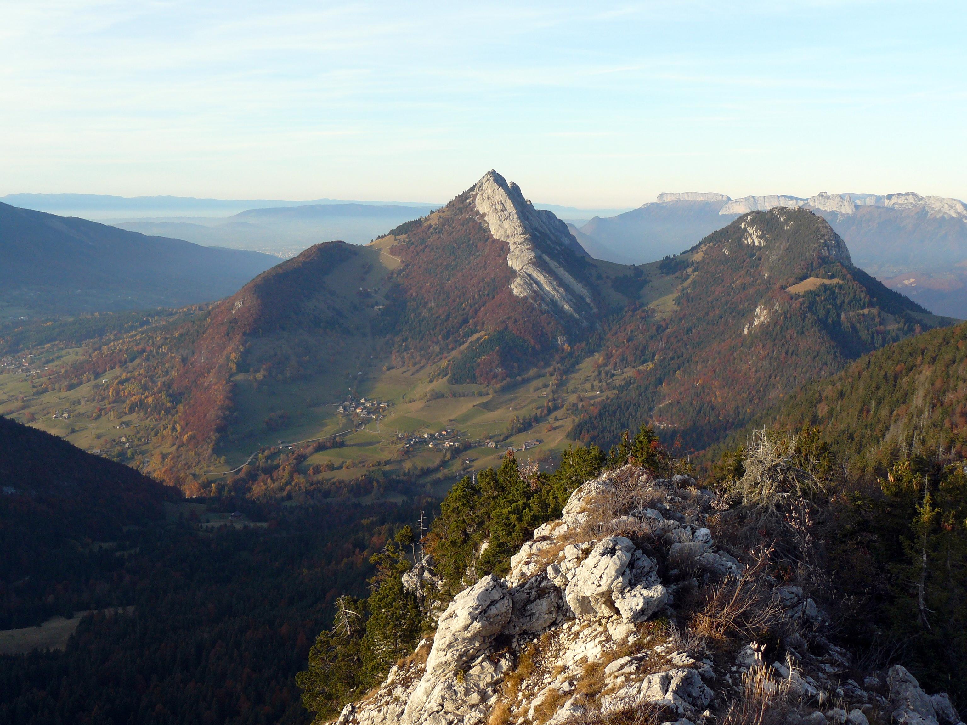 Vue depuis le Mont Julioz