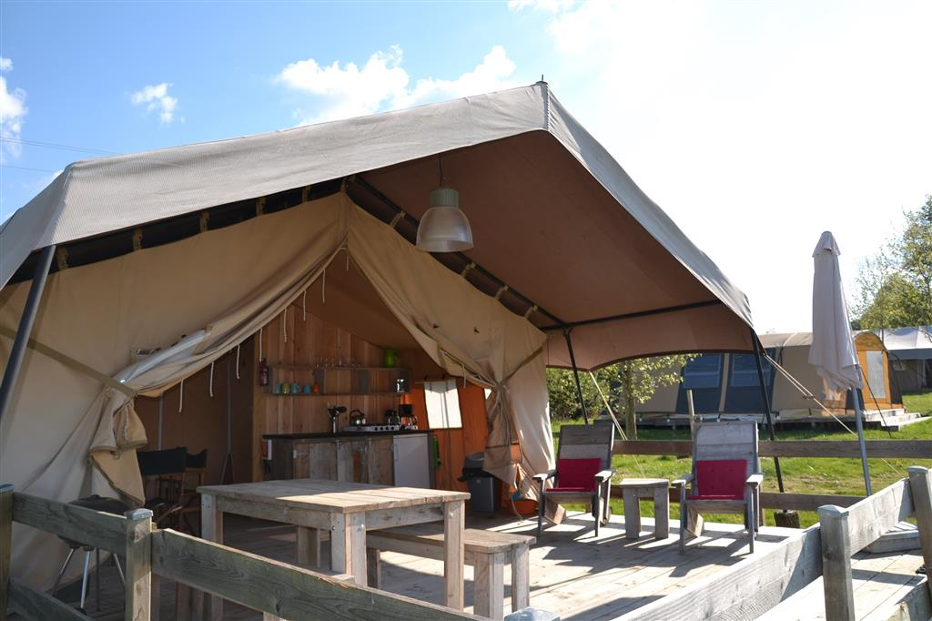 Camping Les Fruits du Passau Tente safari Ⓒ Camping les Fruits du Passau