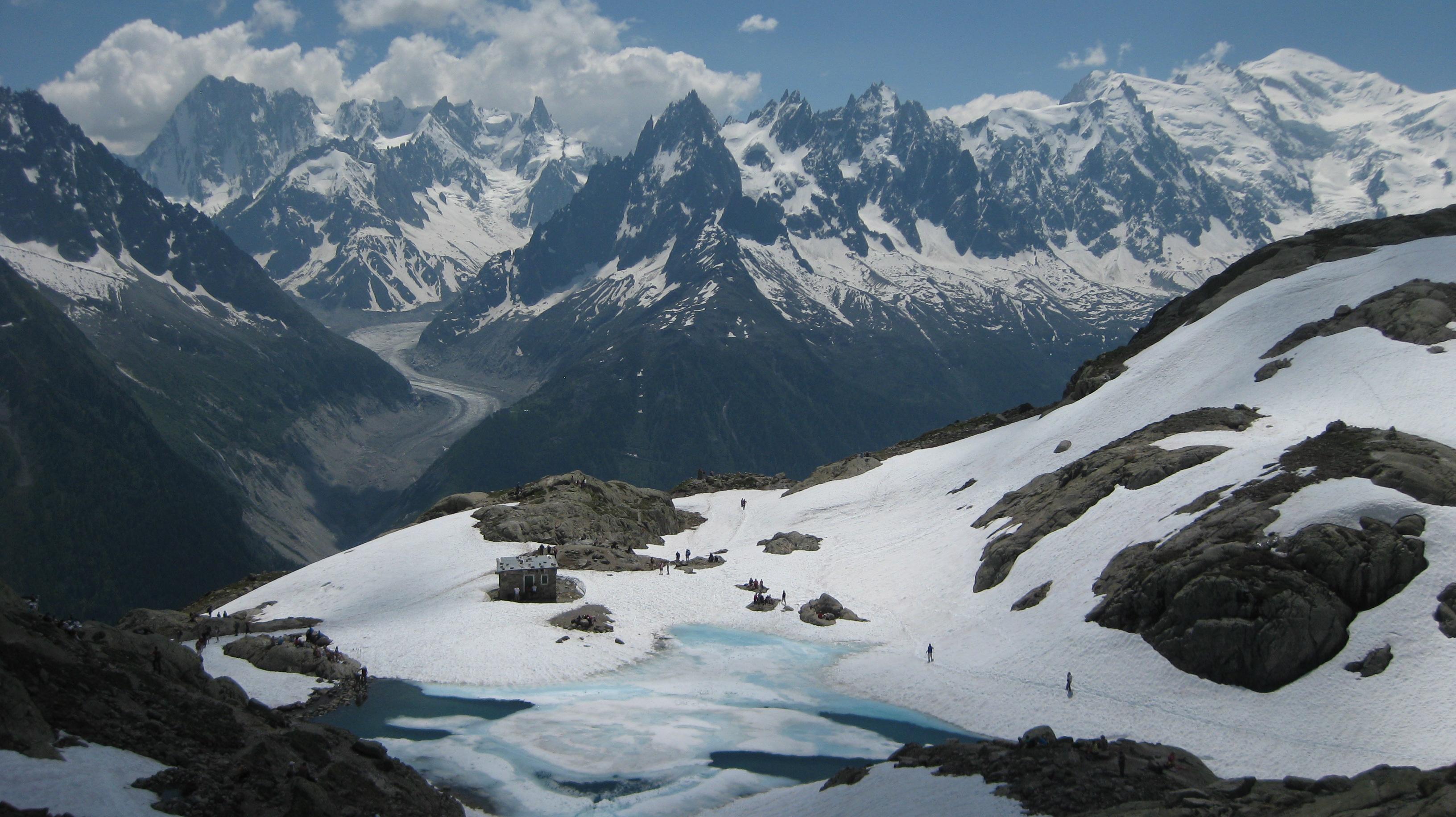 Sentier des Lacs alpins (retour rapide)