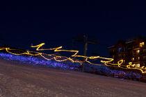 Descente aux flambeaux et aux lampions place des Queyrelets - © ESI Orcières