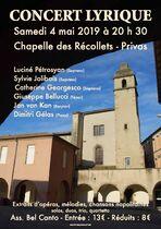 Concert lyrique - Privas