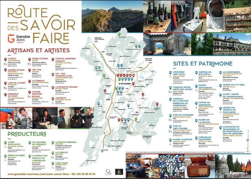 Route des savoir-faire Grenoble-Alpes Métropole