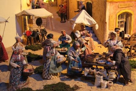 Marché provençal  - Le Village Provençal Miniature
