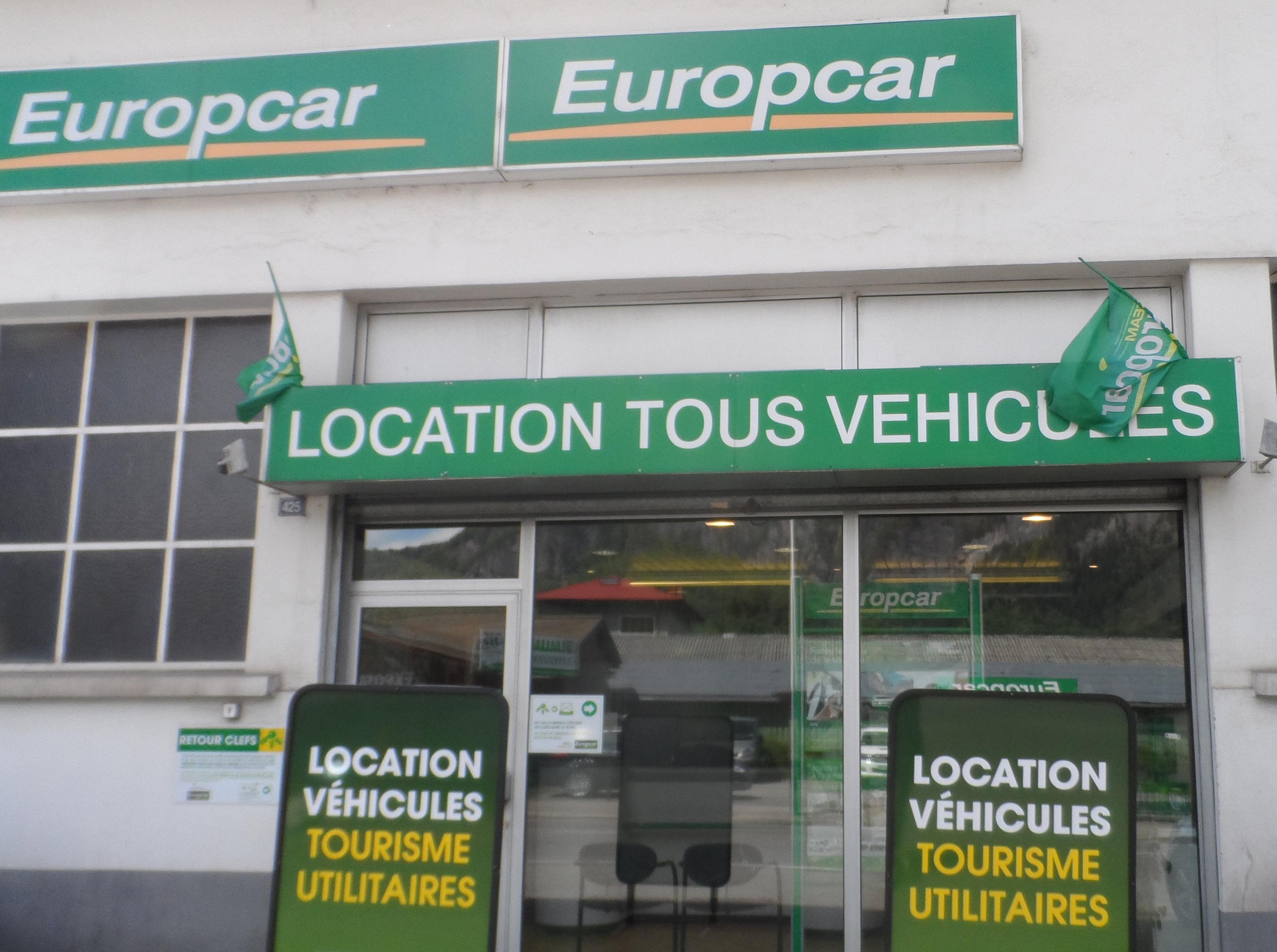 services europcar sas pma office de tourisme sallanches. Black Bedroom Furniture Sets. Home Design Ideas