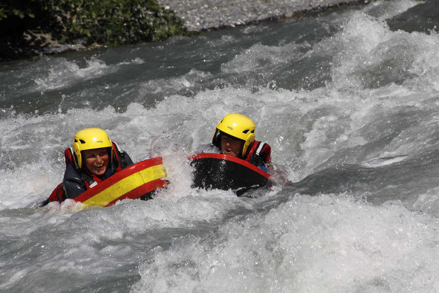Rafting, canoraft, airboat, hydrospeed // Massif des Brasses