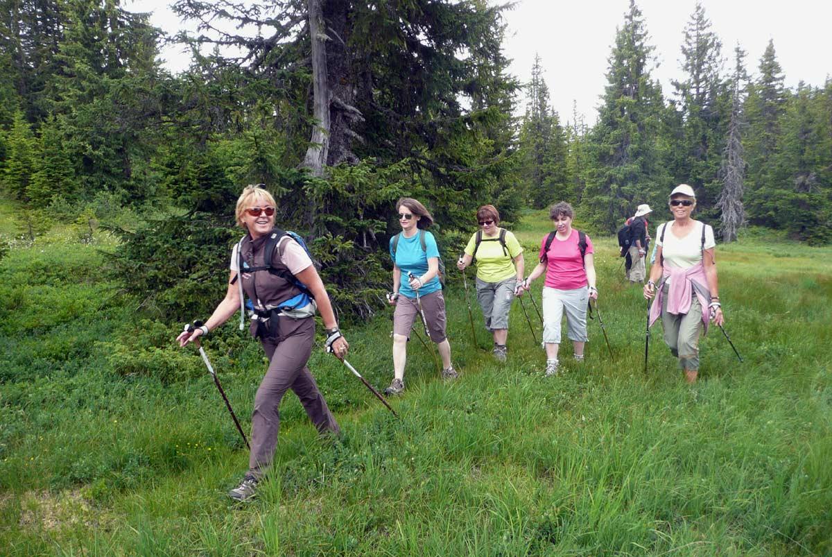 Marche nordique avec Béatrice