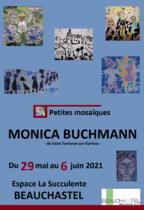 Exposition de Monica - Les petites mosaïques - Beauchastel