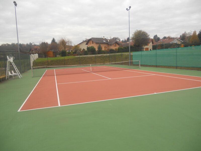 Court de Tennis de Peillonnex