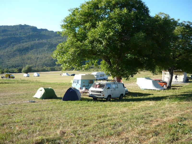 camping La ferme du Cheiron