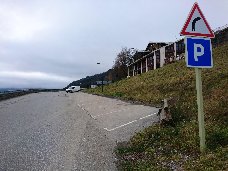 Parking d'Hauteluce