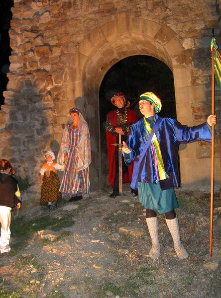 Visite théâtralisée groupe - Les Compagnons de Charmes - Charmes-sur-Rhône