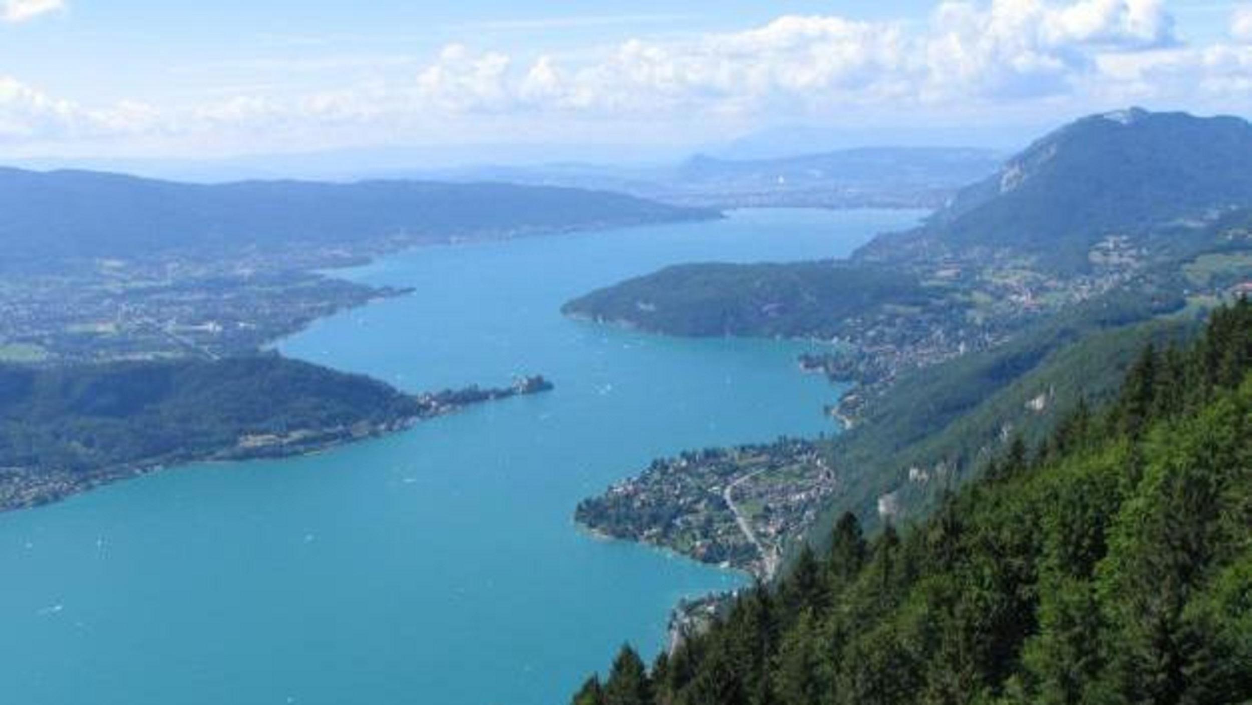 Tour du lac d Annecy GR P Doussard Refuge de Pré vérel 1243 m