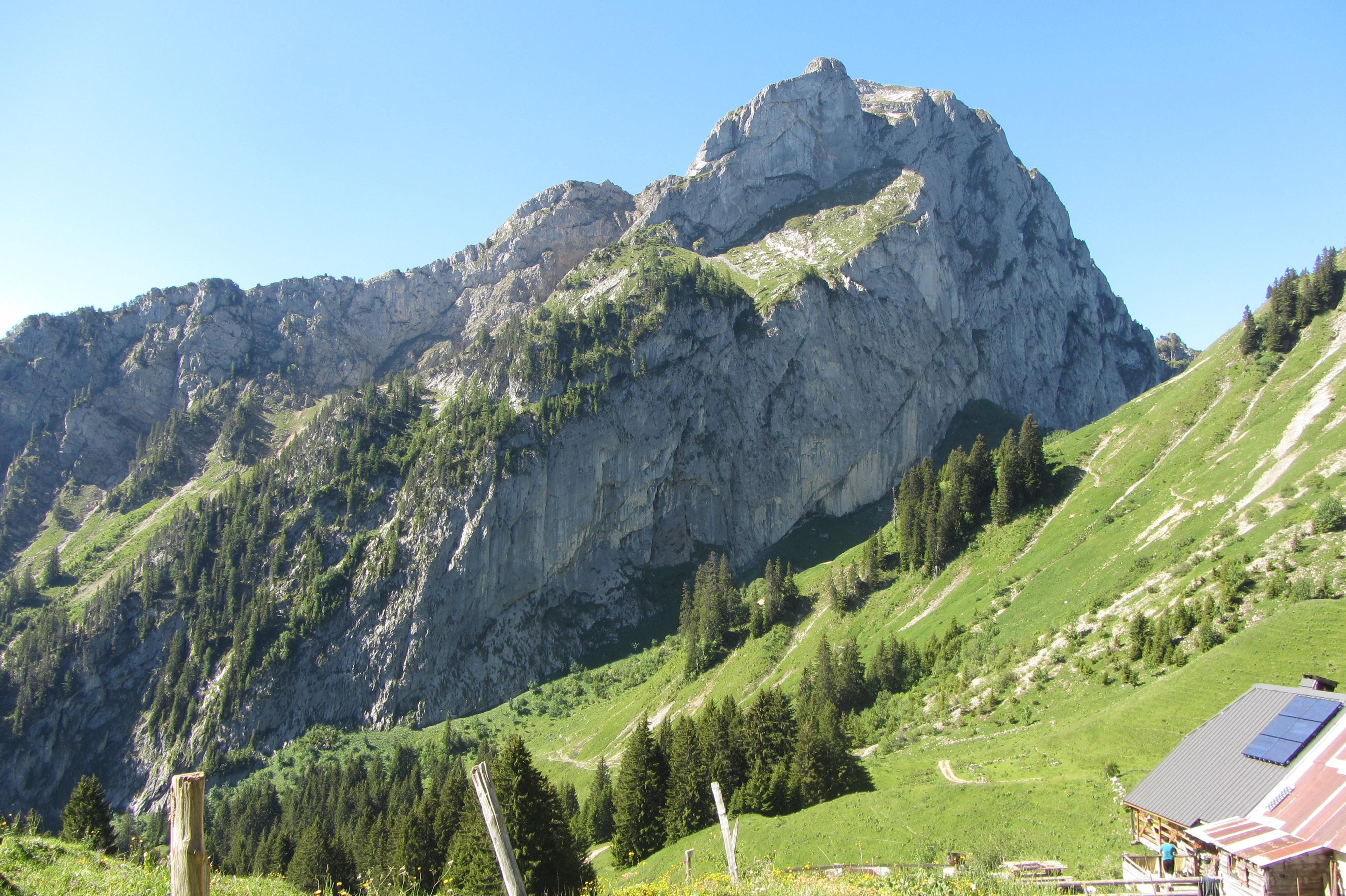 Vue sur le Mont Chauffé