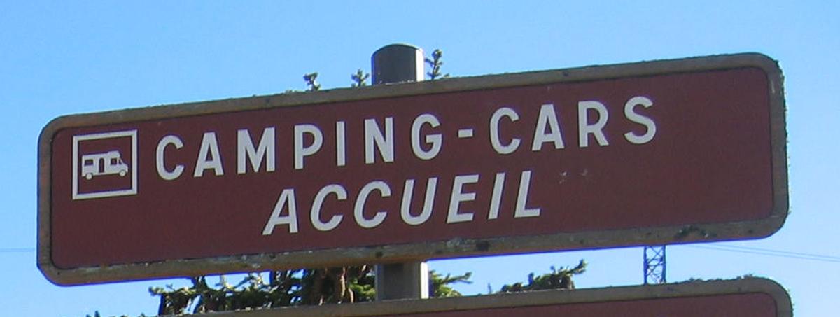 Aire de service du col des Saisies - Camping-car