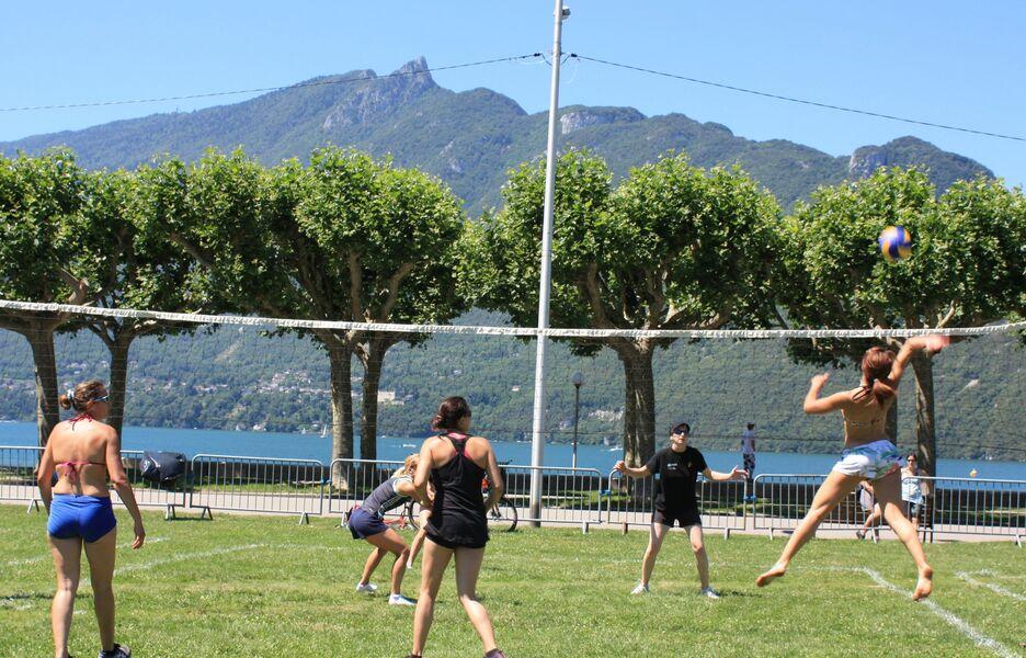 Compétitions sportives - 35e Tournoi de Volley 3x3 sur herbe
