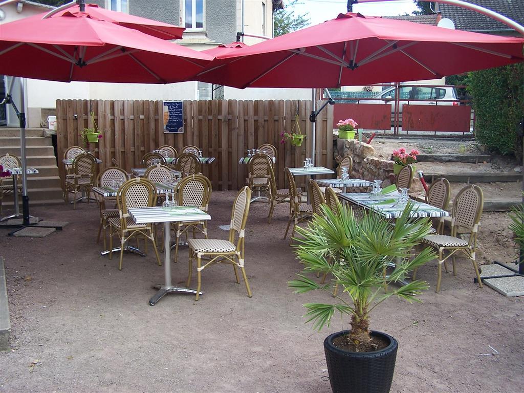 Hôtel Le Lichou Terrasse Ⓒ Hôtel Le Lichou