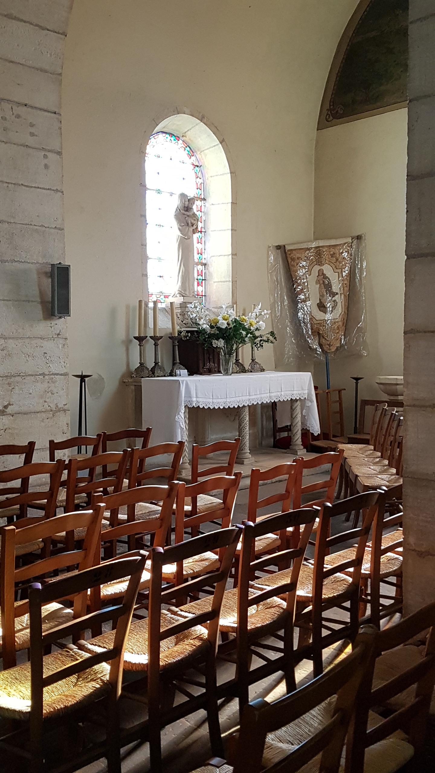 Eglise Saint-Martin de Thiel sur Acolin