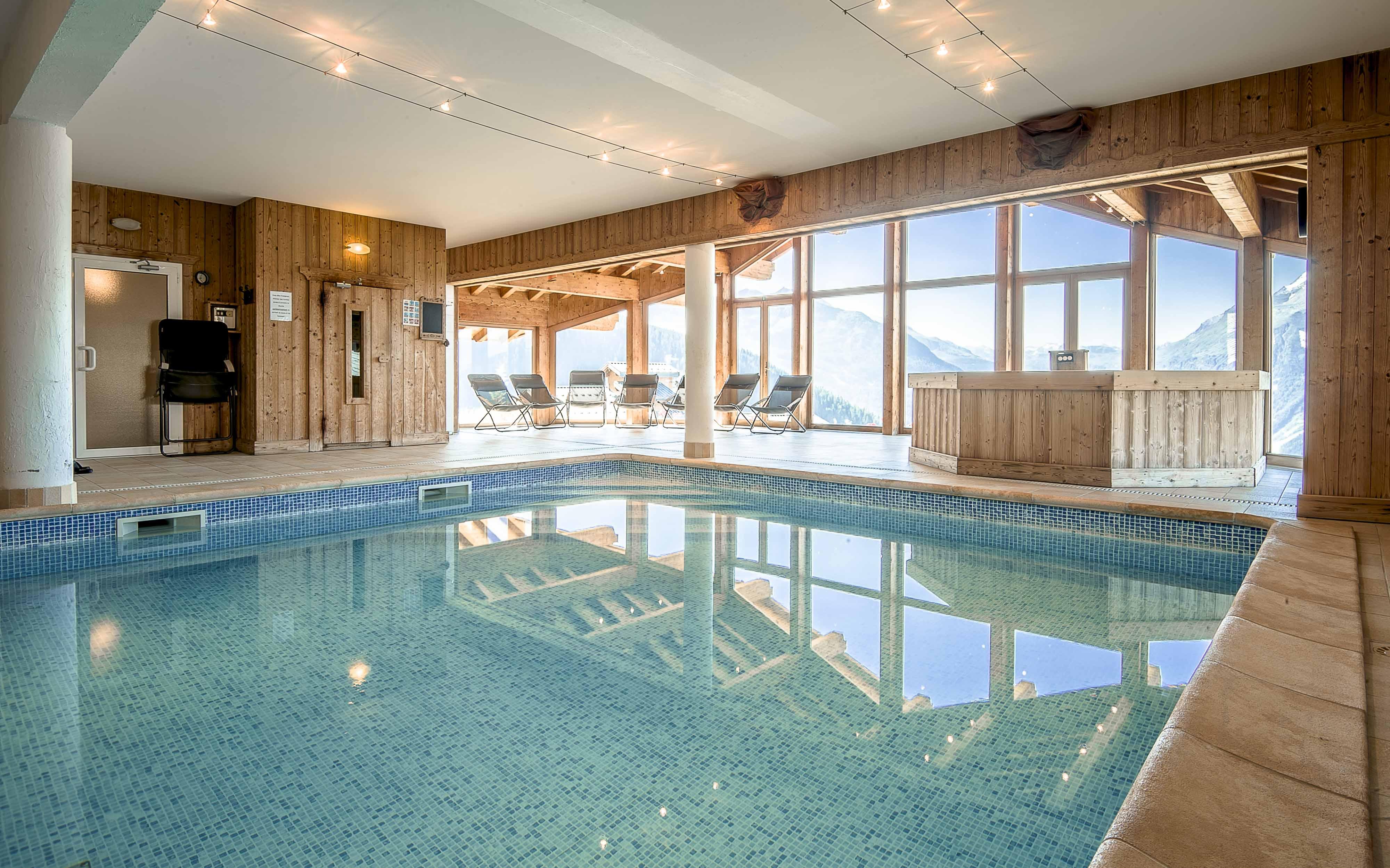 piscine et spa station de ski familiale la rosire