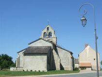 Église Saint-Martin Extérieur église Ⓒ Mairie de Terjat