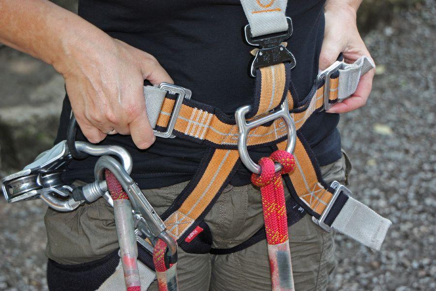 Activités montagne - La Pierre du Quart climbing route