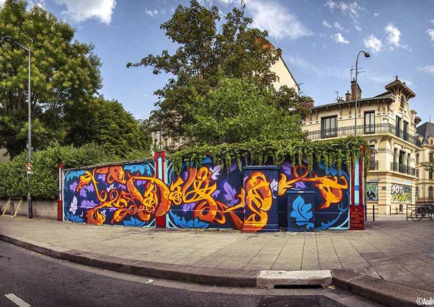 Street-art à Grenoble