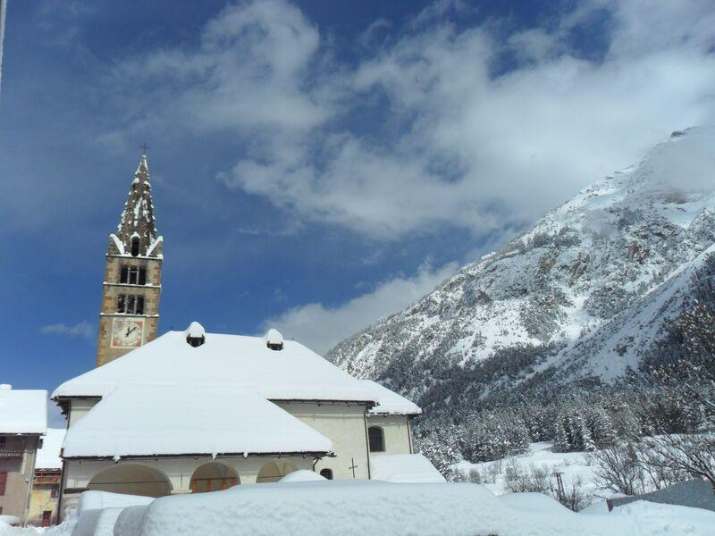 Eglise Hiver - � Camille LE CORRE