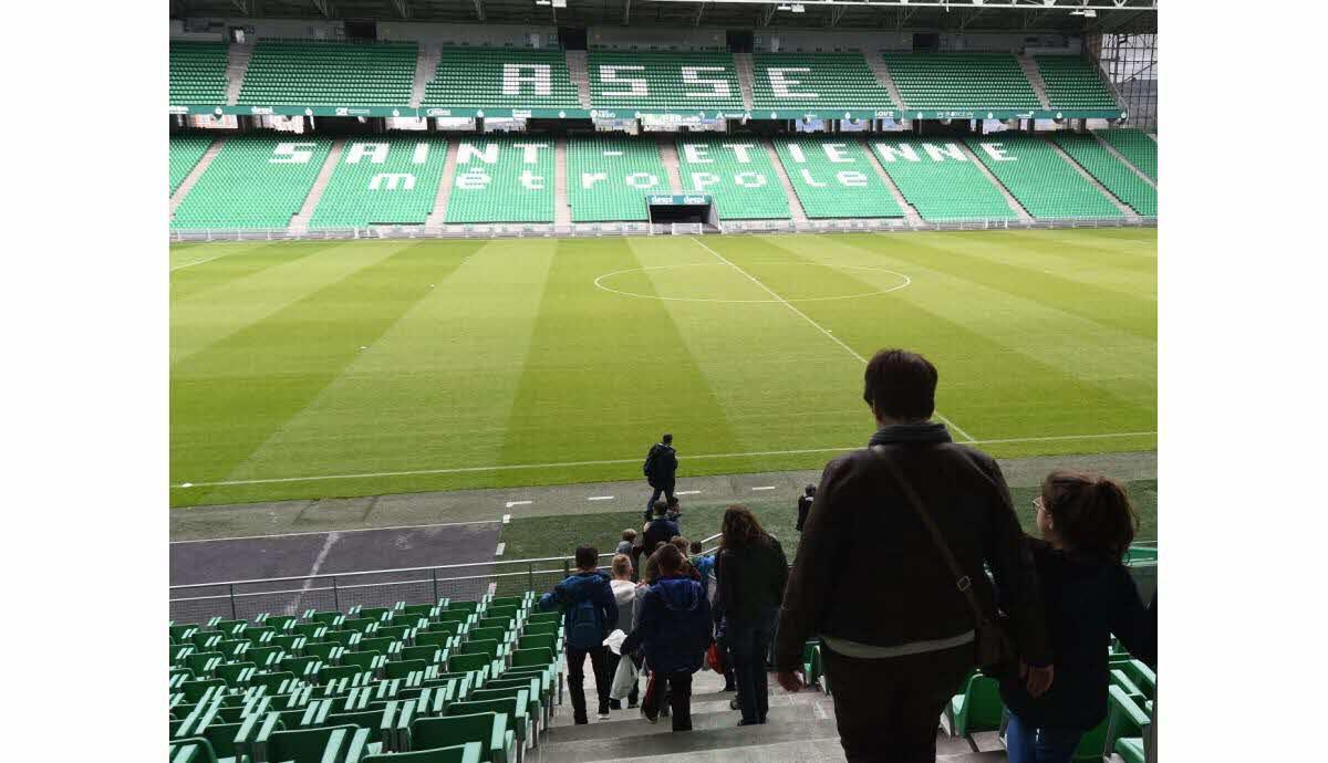 Visite guidée du Stade Geoffroy Guichard
