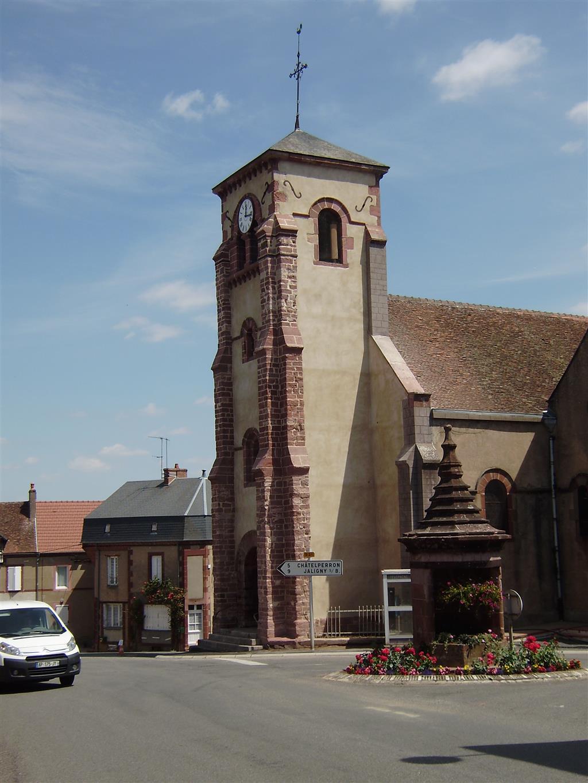 Église Saint-Côme et Saint-Damien - Saint-Léon Eglise Ⓒ Mairie Saint-Léon
