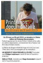 Dans le cadre du Printemps du film documentaire: Amal - Lussas