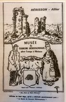 Musée du Terroir hérissonnais affiche Ⓒ musée du terroir hérissonnais - 2019