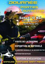 Sapeurs pompiers Saint-Péray - Journée portes ouvertes - Saint-Péray