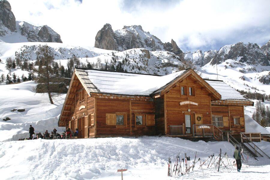 refuge départ rando skis et raquettes - © @refuge laval site web