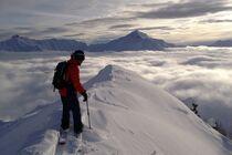 Découverte du ski de randonnée dans la vallée du Champsaur - © A. Bompar