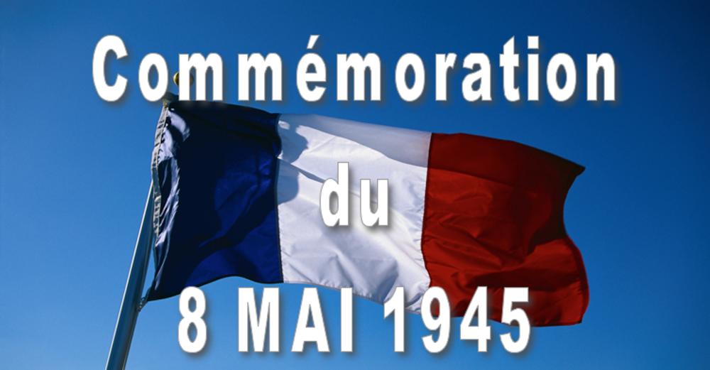 Commémoration du 8 mai 1945 - Saint-André-en-Vivarais