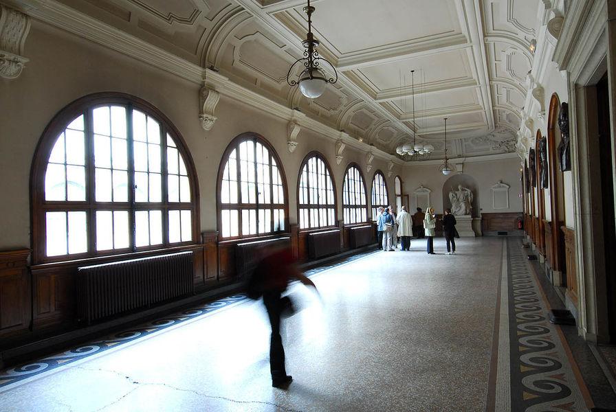 Palais du parlement - Salle des pas perdus