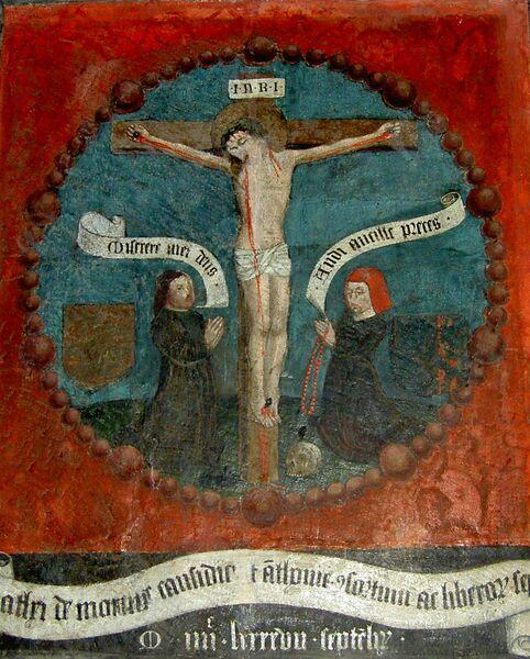 Peinture murale de 1497