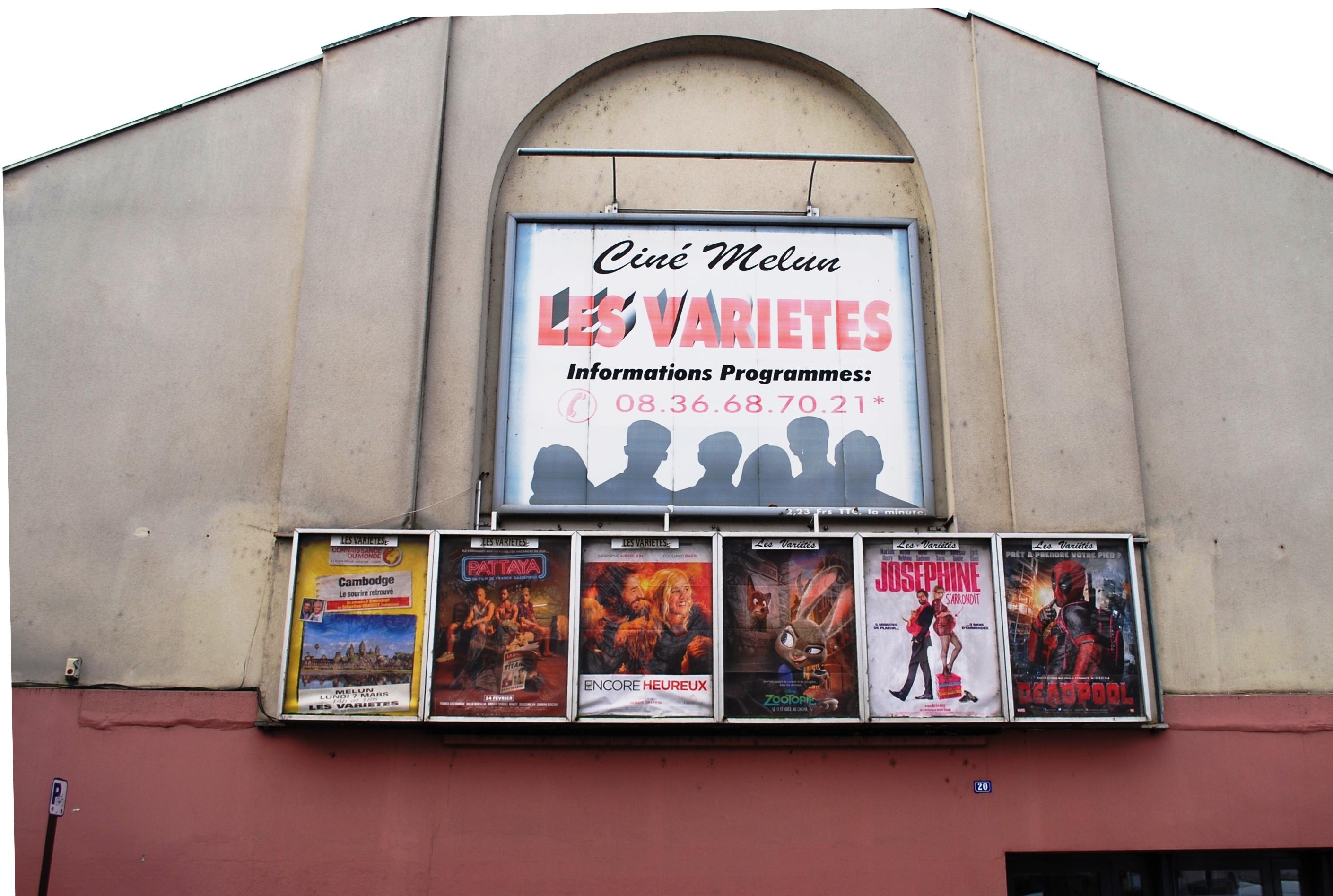 Cinéma les Variétés - © Ville de Melun