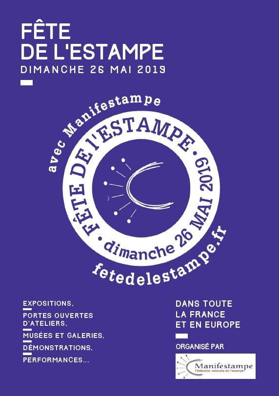 Fête de l'estampe : visite de l'atelier-exposition de Yolaine Carlier