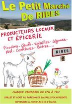 Le petit marché de Ribes - Ribes