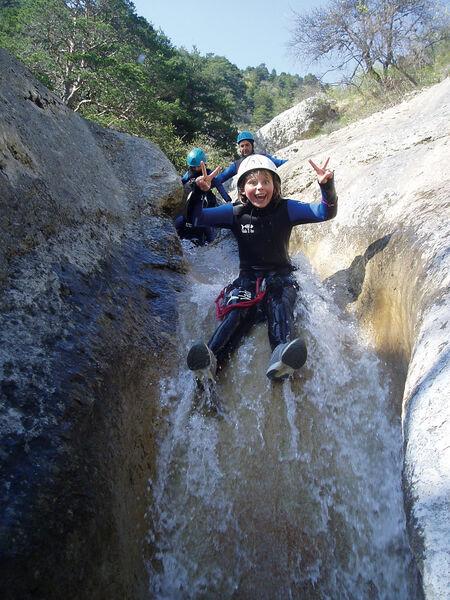Canyoning Guides des 2 Vallées - © Guides des 2 Vallées