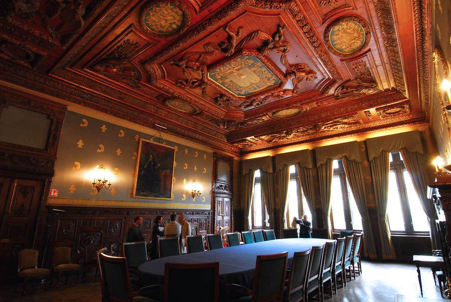 Palais du Parlement - Salon Bleu