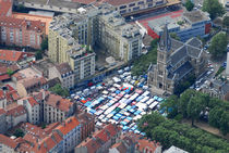 quartier saint bruno © Ville de Grenoble vue aérienne