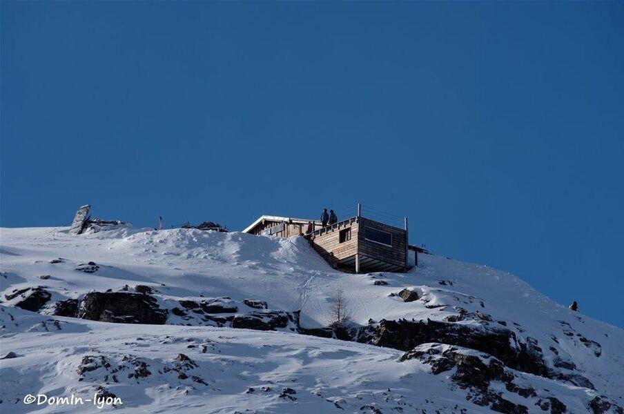 refuge en hiver - © ©Refuge Chancel